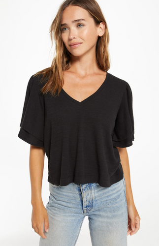 Z Supply | Blake Slub Ruffle Top