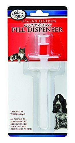 Four Paws Quick and Easy Pill Dispenser - from Cat Supplies and More