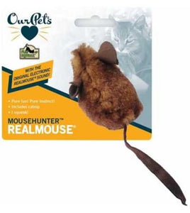 Play-N-Squeak Brown MouseHunter Cat Toy from Cat Supplies & More