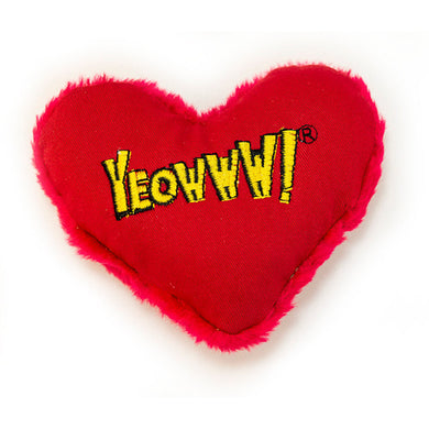 Yeowww! Hearrrt Attack Catnip Toy from Cat Supplies and More