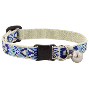 "Lupine ""Fair Isle"" Pattern Cat Collar w/Bell from Cat Supplies and More"