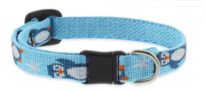 "Lupine ""Penguin Party"" Pattern Cat Collar w/Bell from Cat Supplies and More"