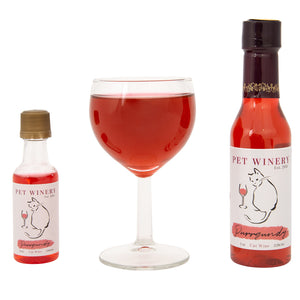 Pet Winery Purrgundy Cat Wine from Cat Supplies & More