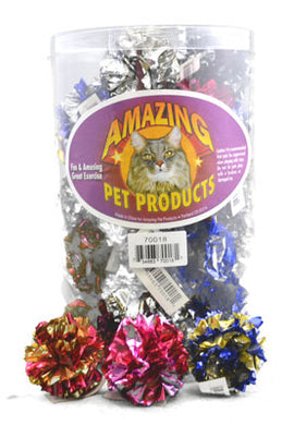 Amazing Pet Products Crinkle Balls 3-pack from Cat Supplies and More