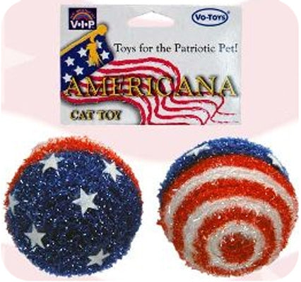 Americana Patriotic Cat-Toys (2-Pack) from Cat Supplies and More