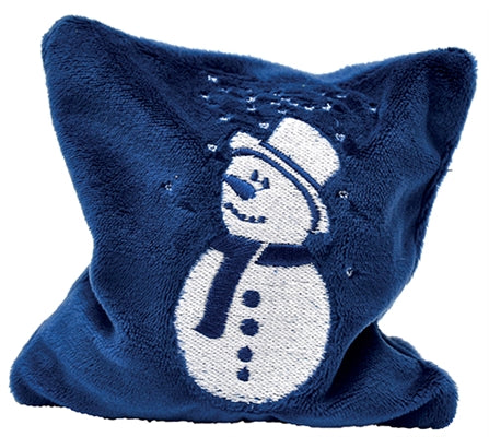 Valerian Frosty Snowman Pillow Cat Toy