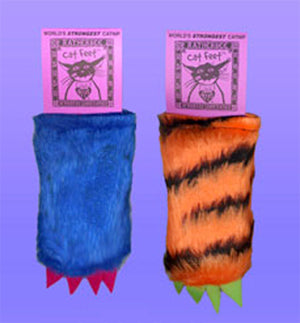 Ratherbee Cat Feet Catnip Toy from Cat Supplies and More