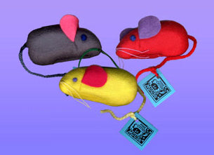 Ratherbee Le Mouse Catnip Toy