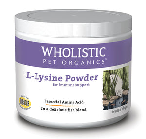 Wholistic L-Lysine Powder - Cat Supplies and More