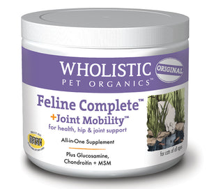 Wholistic Feline Complete Joint Mobility - Cat Supplies & More