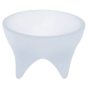 Cats Rock Raised Round Petfood Bowl - Blue Ice from Cat Supplies and More