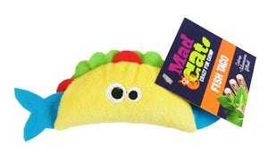 Cosmic Pet Mad Cat Fish Taco Cat Toy from Cat Supplies & More