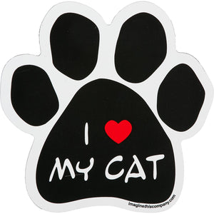 "I ""Heart"" My Cat Magnet - from Cat Supplies and More"