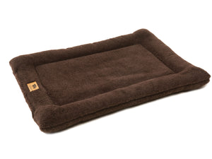 West Paw Montana Nap Cat Bed XS - Chocolate from Cat Supplies and More