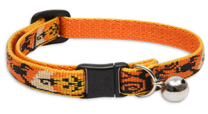 "Lupine ""Spooky"" Halloween Cat Collar with bell, from Cat Supplies and More"