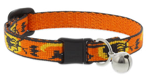 "Lupine ""Wicked"" Halloween Cat Collar with bell, from Cat Supplies and More"