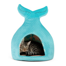 Load image into Gallery viewer, Mermaid Novelty Cat Hut from Cat Supplies and More