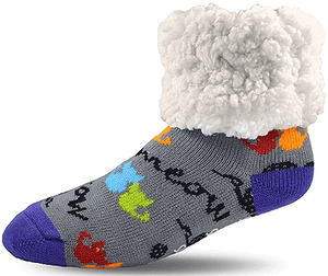 Pudus Pet Socks for People - MultiCat - Cat Supplies and More
