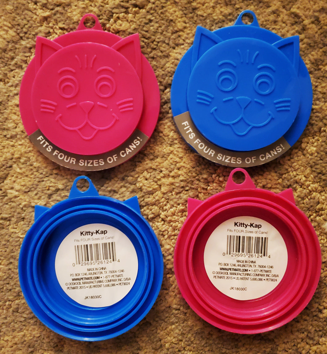 Petmate Kitty Kap Cat Food Can Lid, from Cat Supplies and More