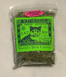 Ratherbee Premium Eco Catnip 1oz Bag