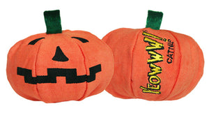 Yeowww!-Loween Pumpkin Catnip Toy