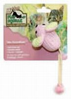 Play-N-Squeak Wee Pinkie Mouse Kitten Toy