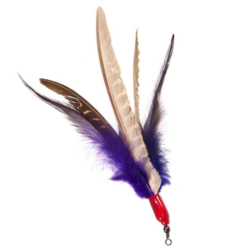 Da Bird Wand Toy Super Feather Attachment from Cat Supplies and More