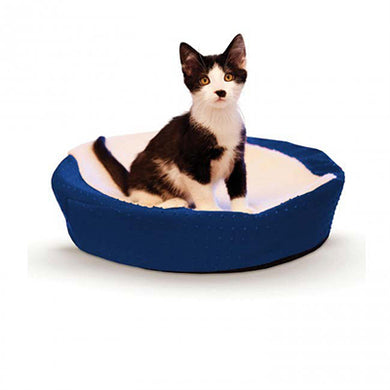 K&H Ultra Memory Round Pet Cuddle Nest from Cat Supplies & More