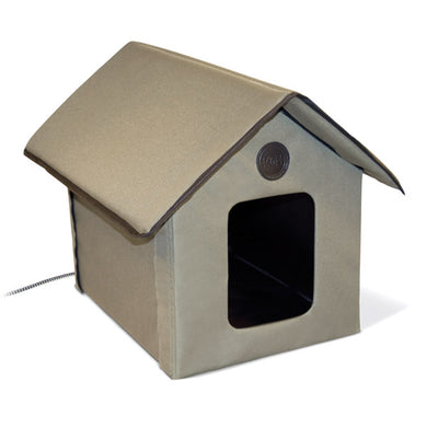 K&H Outdoor Kitty House - Heated from Cat Supplies and More