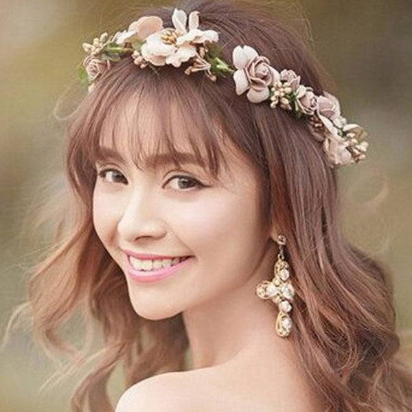 Floral Hairband European Hair Accessories (Wedding)