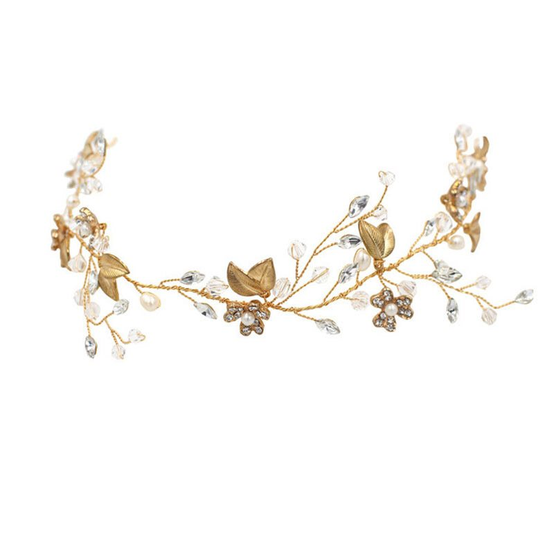 Korean Leaf Hairband Hair Accessories (Wedding)