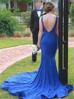 Sleeveless Scoop Floor-Length Trumpet/Mermaid Evening Dress