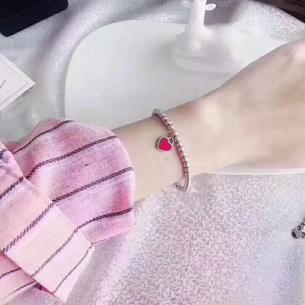 Heart-Shaped Female Bracelets