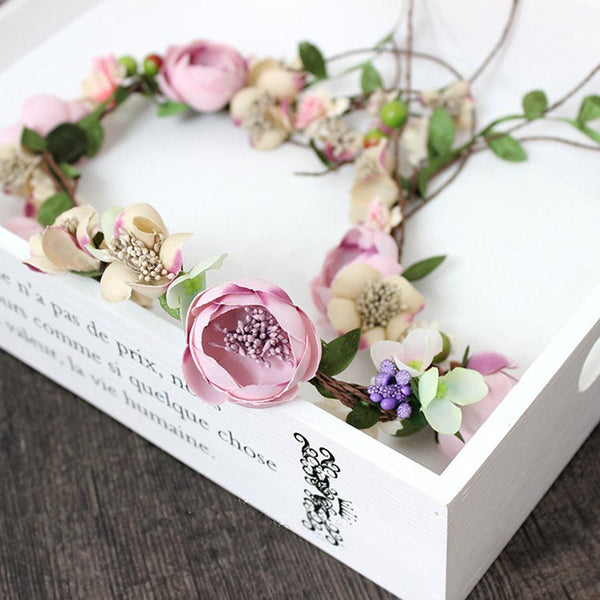 Floral Hairband Korean Hair Accessories (Wedding)