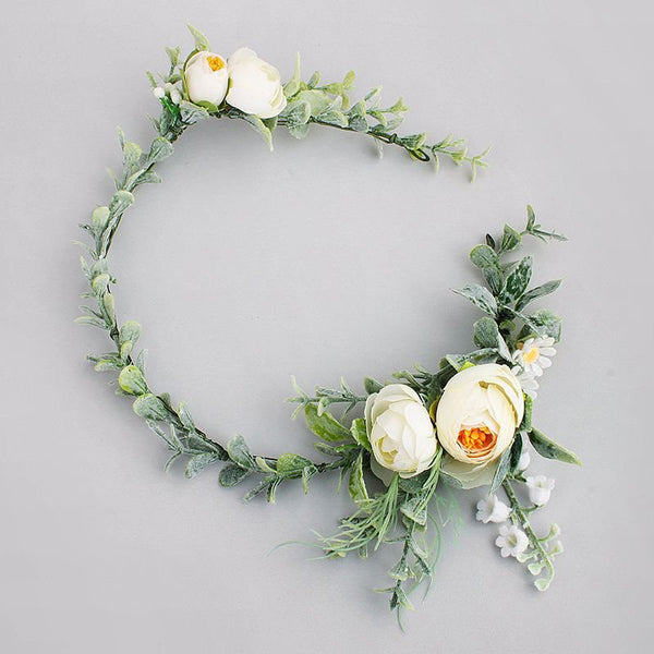 European Floral Hairband Hair Accessories (Wedding)