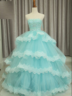 Sleeveless Court Floor-Length Sequins Quinceanera Dress