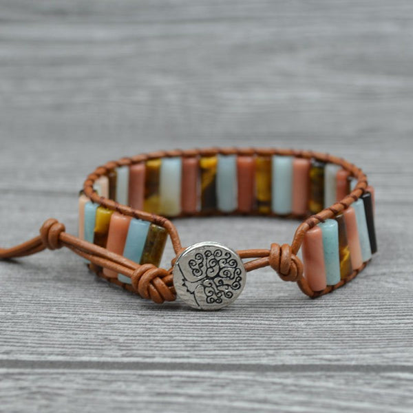 Ethnic Woven Color Block Unisex Bracelets