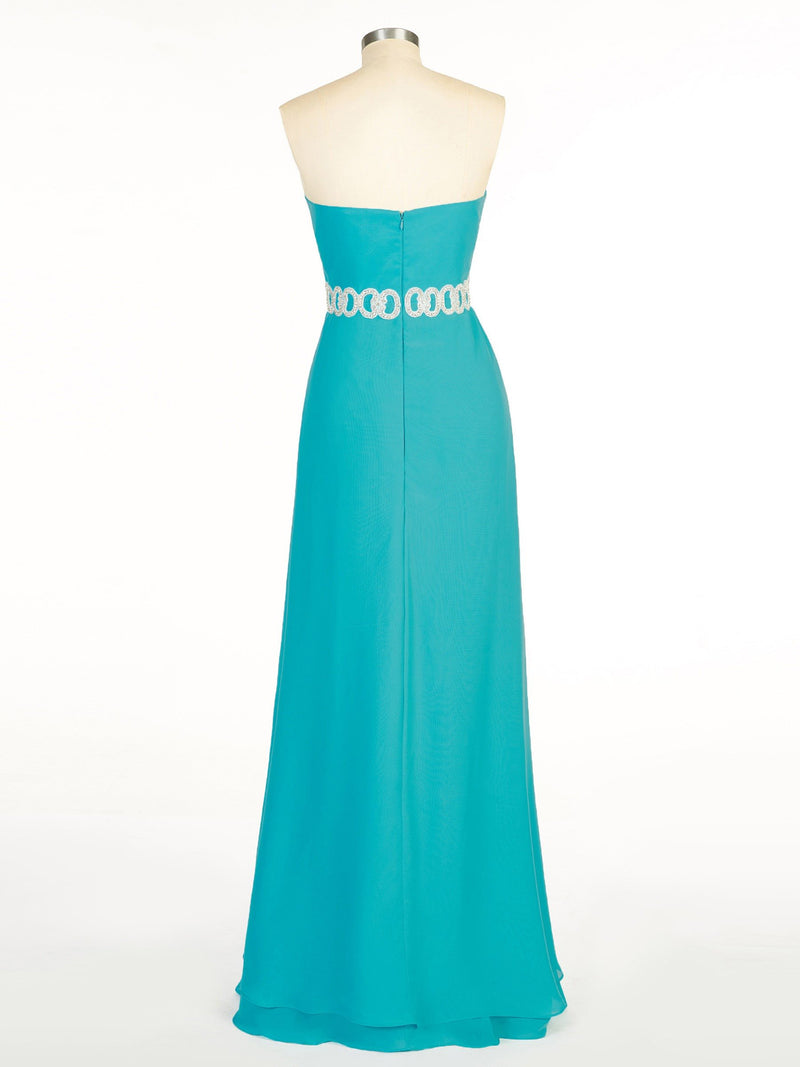 Tiered Asymmetry Sweetheart Sleeveless Cocktail Dress