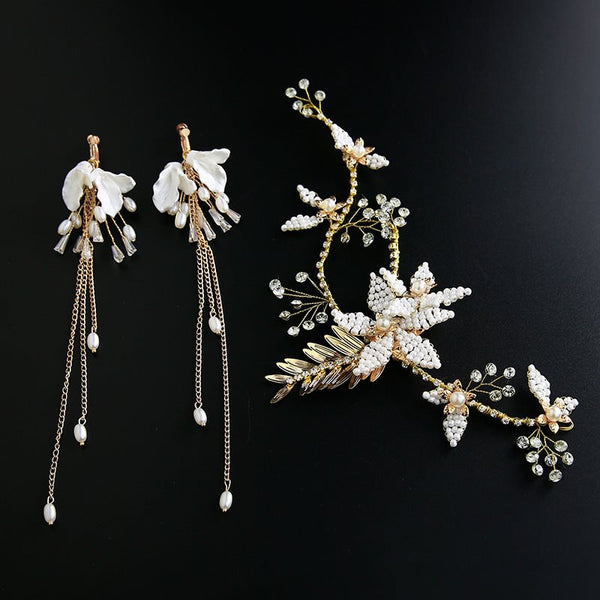 Plant Handmade Head Flower Hair Accessories (Wedding)