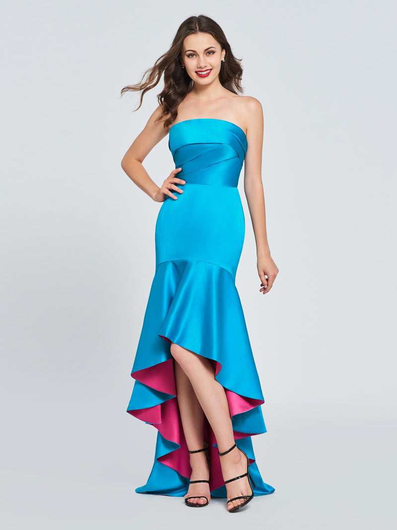 Asymmetry Pleats Sleeveless Trumpet/Mermaid Sweet 16 Dress