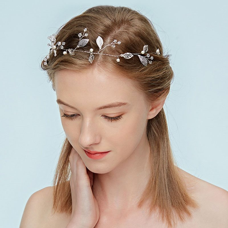 Hairband Leaf Handmade Hair Accessories (Wedding)