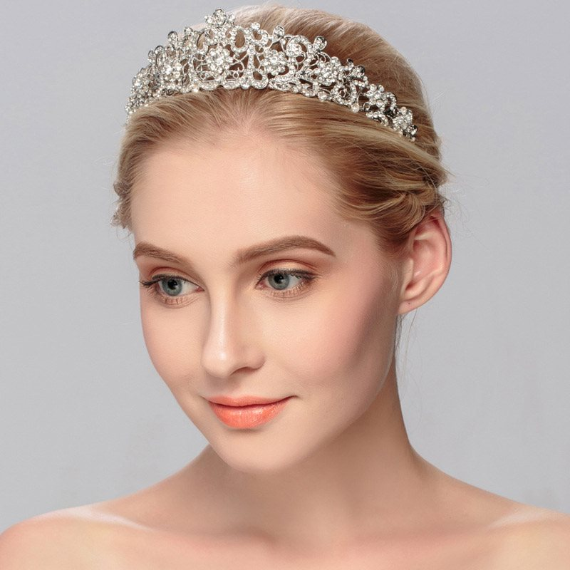 Crown Hairband European Wedding Hair Accessories