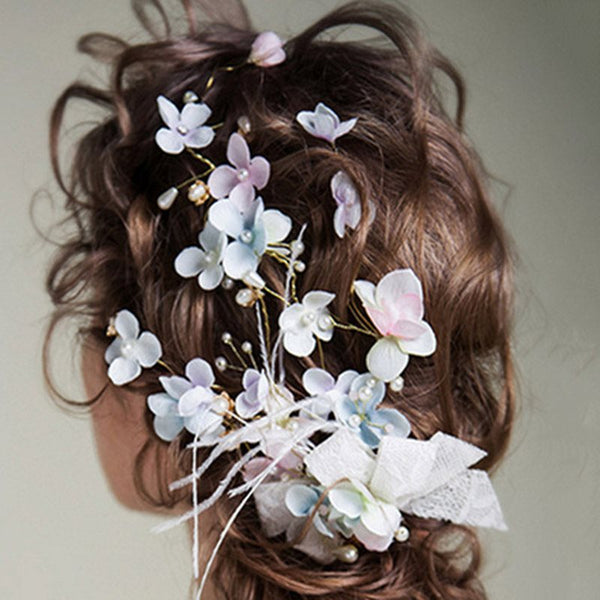 Handmade Korean Floral Hair Accessories (Wedding)
