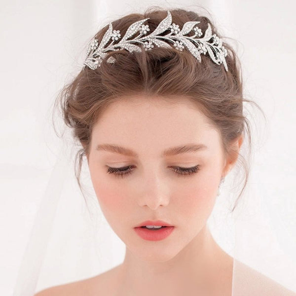 Hairband Leaf Korean Hair Accessories (Wedding)