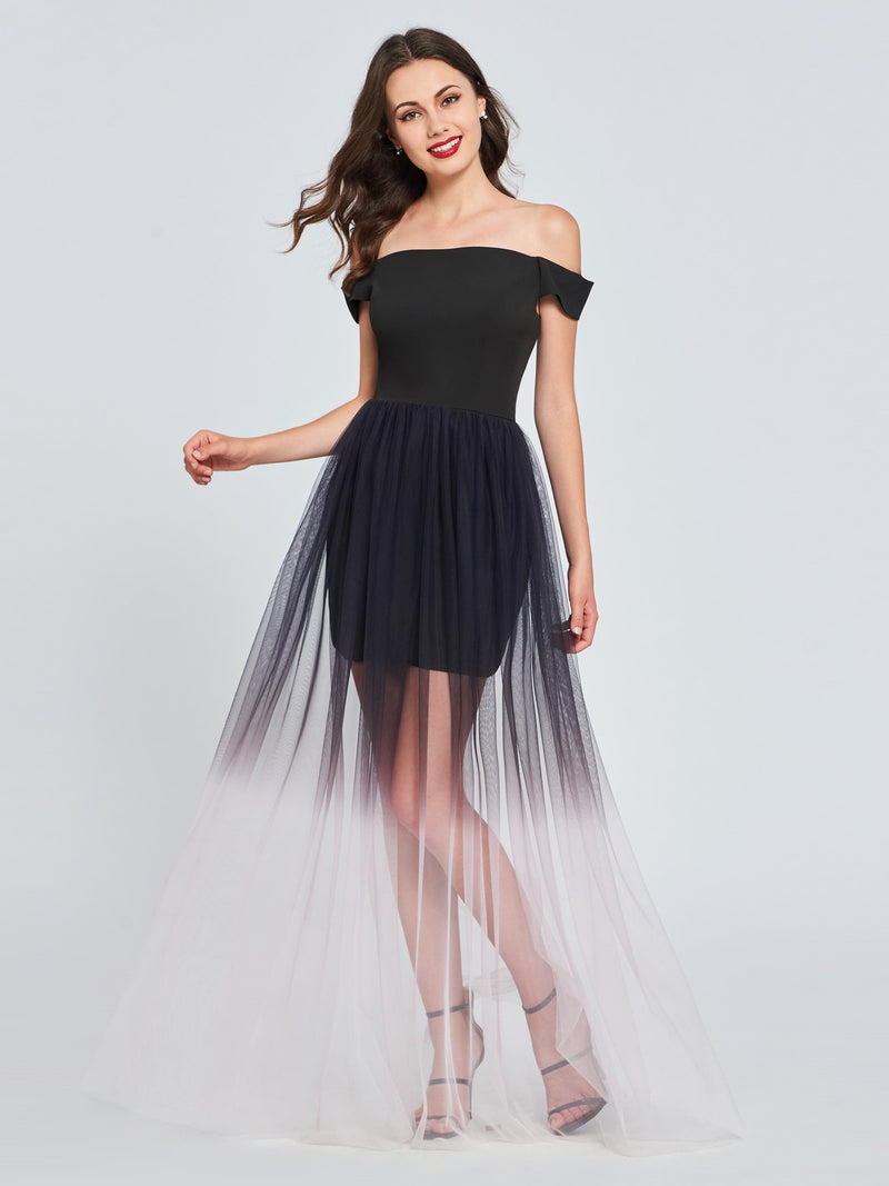 Ruffles Floor-Length Cap Sleeves A-Line Homecoming Dress