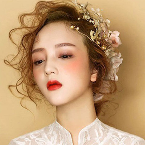 Korean Floral Head Flower Hair Accessories (Wedding)