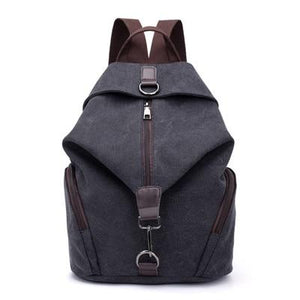 Large Canvas Backpack - boribags