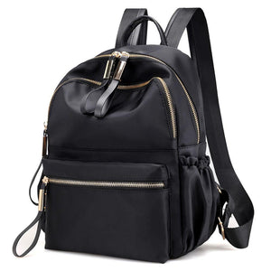 Leather School Backpack - boribags