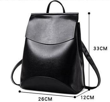 Minimalist Leather Backpack - boribags