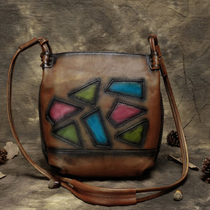 Leather Messenger Bag - boribags